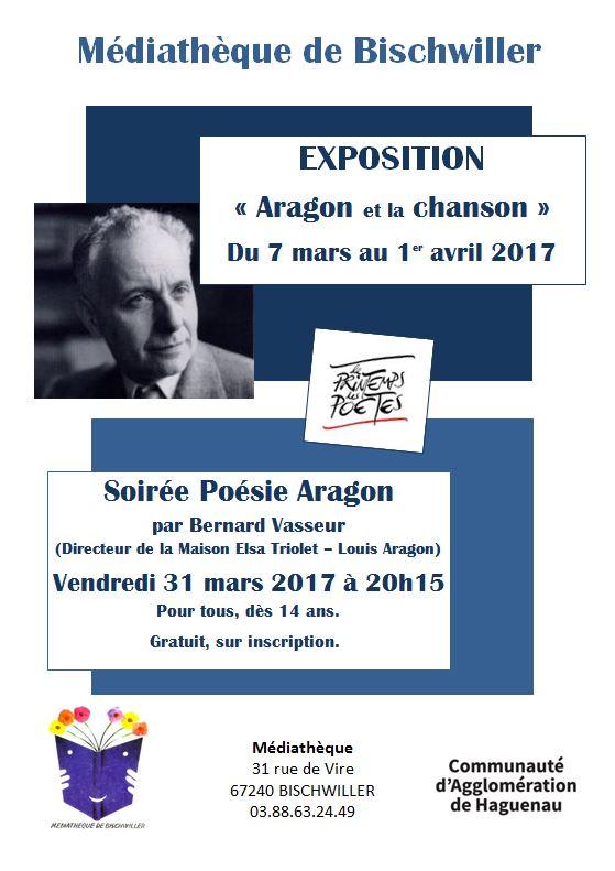Expo-soirée Aragon